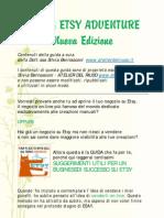 Guida Etsy Adventure Nuova Edizione Cap 1-8 (italiano)