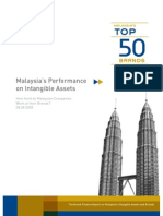 Top 50 Report-Malaysian Brands