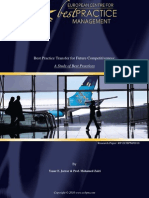 Best Practice Transfer for Future Competitiveness