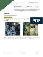 HSE Inspection Report EMAAR Stores
