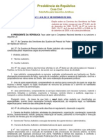 Lei 11416 2006 Plano de Carreiras.treespdf