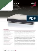 Telenet Digicorder ADB Datasheet 5820C