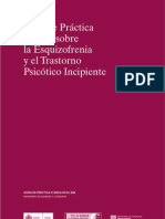 2009 Ministerio Sanidad y Gencat. GPC Esquizofrenia y T Psicótico