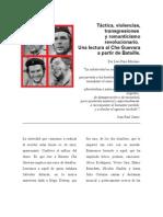Táctica, violencias, transgrsiones y romanticismo revolucionario