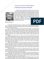 Clifford Geertz Dan Agama Jawa