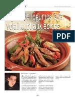 Tajine de légumes à la volaille et aux épices - www.charcutiers-traiteurs.com