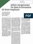 Formation Continue Des Travailleurs