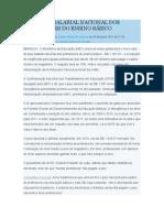 NOVO PISO SALARIAL NACIONAL DOS PROFESSORES DO ENSINO BÁSICO