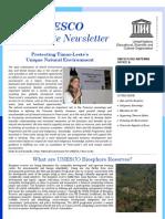 Newsletter UNESCO_Timor-Leste #3