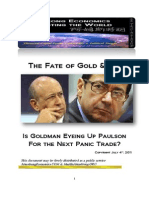 The Fate of Gold and Oil Front Runner 07-04-2011