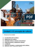 Antropología social unidad 2 el concepto de cultura