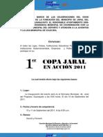 Convocatoria Copa Jaral en Acción 2011