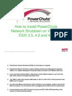 PowerChute-ESXi