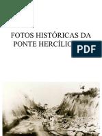 Construção Ponte Hercilio Luz