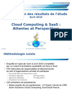 Extract Cloud Computing & SaaS.attentes Et Perspectives