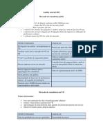 Analise setorial 2011