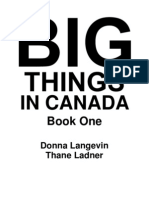 Big Things in Canada Book One Sample