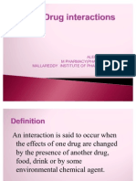 Drug Interactions Ppt