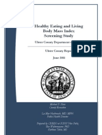 Ulster County Childhood Obesity Study