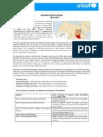 Fact Sheet - Children in South Sudan