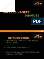 Managenent Strategies of ufone