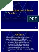 Interazioni_ServerOracle