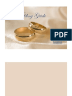 Wedding Guide Booklet