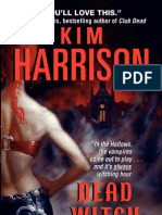 DEAD WITCH WALKING by Kim Harrison, Excerpt