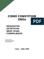 Como Constituir Una ONG PERU