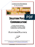 Solution Focused Communication - 2