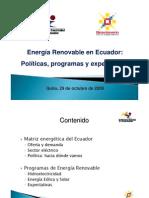 1_Energia Renovable en Ecuador Meer