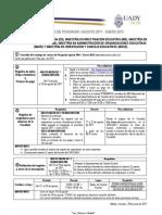 Convocatoria para el registro de asignaturas de posgrado