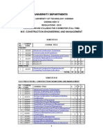 CIVIL ENGINEERING AND ARCHITECTURE  2nd sem
