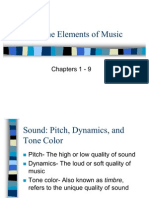 Elements of Music Ppt