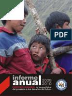 Informe Anual 2009 - 2010