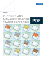 Chosing and Managing Reusable Transit Packaging