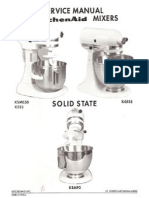 Kitchen Aid Service Manual