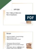 API 520 Presentation