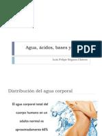 BIOLOGIA 4 Agua, Acidos, Bases y Buffers 2011