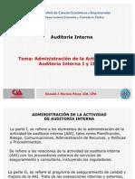 Admin is Trac Ion de La AAI