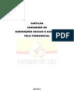 cartilha concessÃo de subvenÇÕes sociais e auxÍlios-1