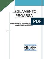 REGLAMENTO PROARSA 2009-1