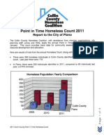 Collin County Homeless Coalition Survey 2011