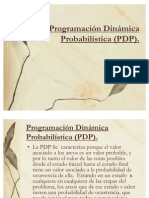 Programación Dinámica Probabilística (PDP)