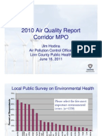 2010 Air Quality Report - MPO