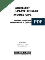 9842329 Quad Plate Chiller Manual