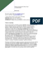 Retorika in argumentacija - delovni načrt 2007