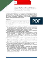 Plan Nacional Decenal de Educación 2006 - 2016