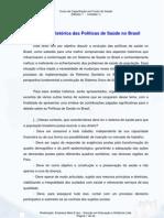 Modulo I- Evolucao Historica Das Politicas de Saude No Brasil - Curso Sus