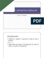 Anillos y Aritmetica Modular